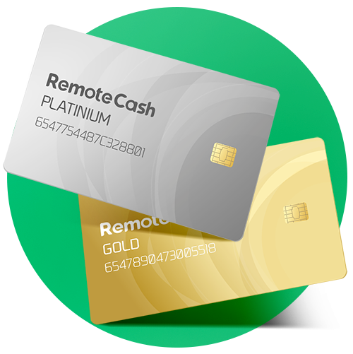 remote cash cards